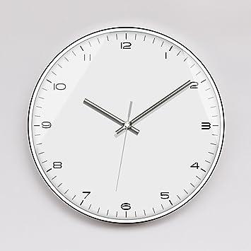 Z-901101 - Reloj de Pared Moderno y Minimalista para salón, Dormitorio, Oficina, Simple Reloj de Cuarzo: Amazon.es: Hogar