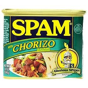 Spam Chorizo, 12 Ounce Can