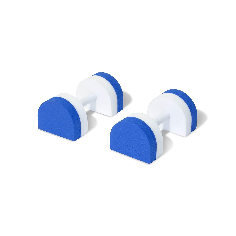 Supasoft Aqua D de la espuma en forma de D agua piscina pesos mancuernas para aquaeróbic y rehabilitación - Offering variable resistencia y fabricado en el ...