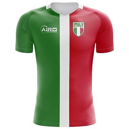 f369734cc Amazon.com   Airo Sportswear 2018-2019 Italy Flag Concept Football Soccer  T-Shirt Jersey (Kids)   Clothing