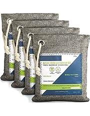 Nature Fresh luchtreiniger, zak, geactiveerde bamboehoutskool, geurverwijderaar voor thuis, actieve koolstoffilter, kastdeodorant, auto-luchtverfrisser