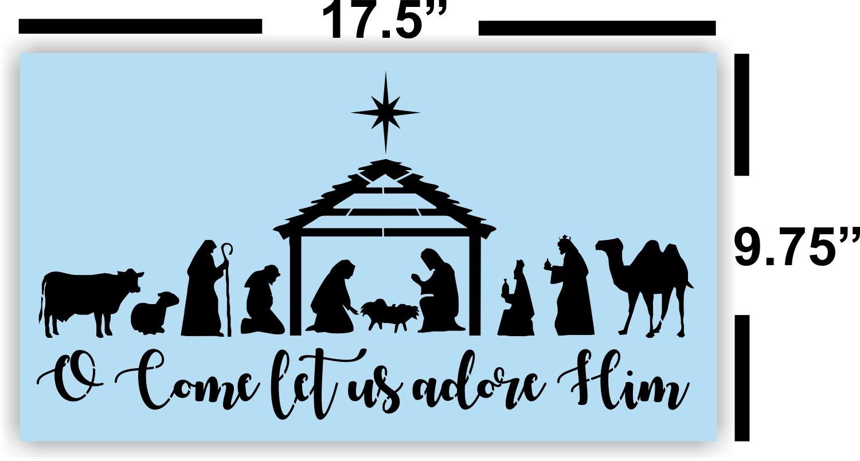 Nativity Scene Patterns Interesting Design Ideas