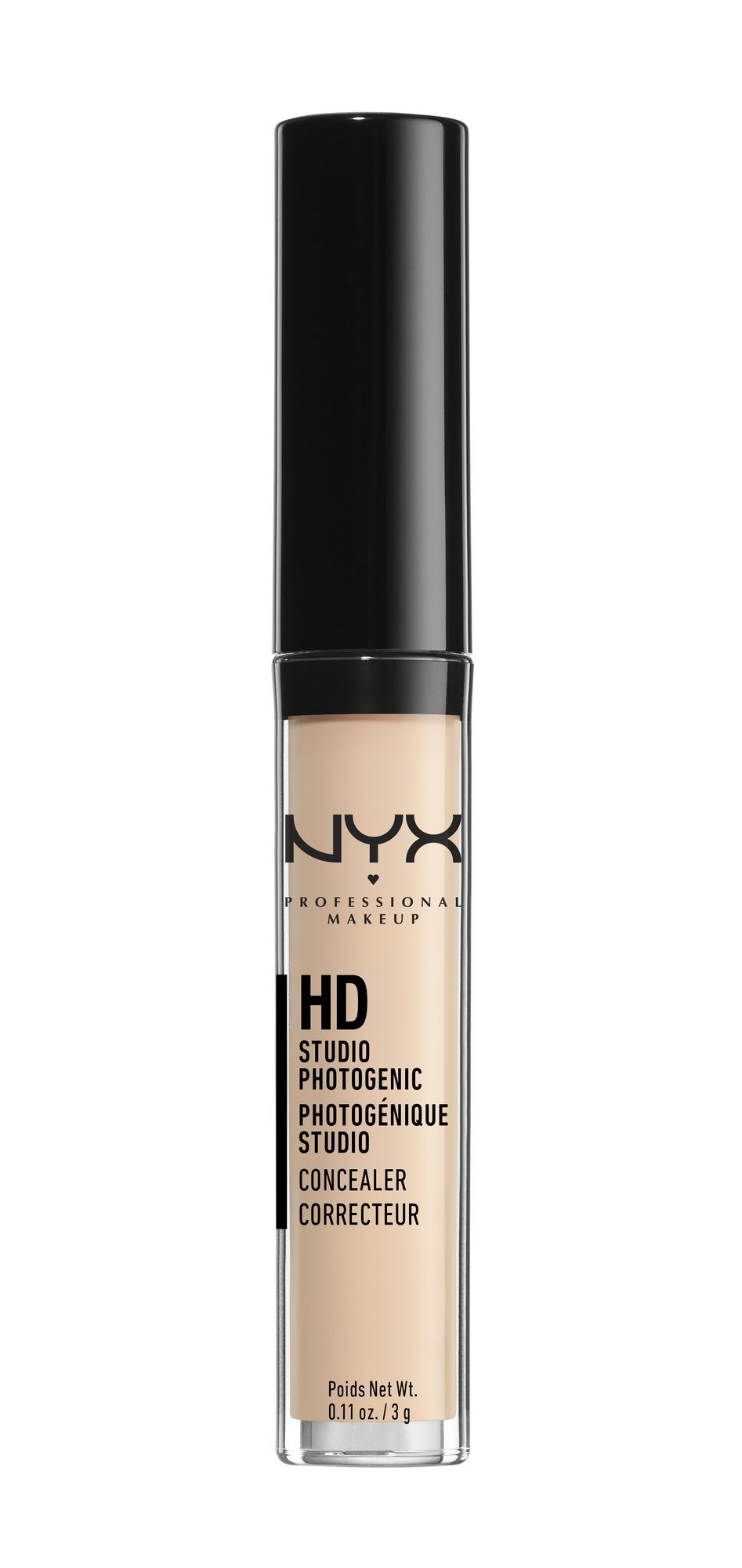 NYX Cosmetics Concealer Wand, Porcelain, 0.11-Ounce