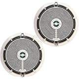 Infinity Marine 652m 6.5 2-Way Weatherproof Speakers - 225W - (Pair) White (Certified Refurbished)