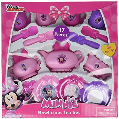 (UPD Minnie Bowlicious Tea Set)