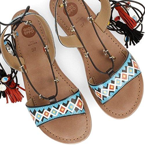 Gioseppo Mujer Haimi 40517-02 Black sandalias romanas