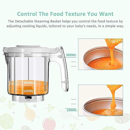 Infanso Baby Food Maker BF300 - Procesador de alimentos para bebés ...