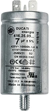 Kondensator 7MF HOOVER 41039164 Wäschetrockner CANDY