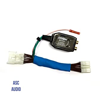Hook up factory radio to amp