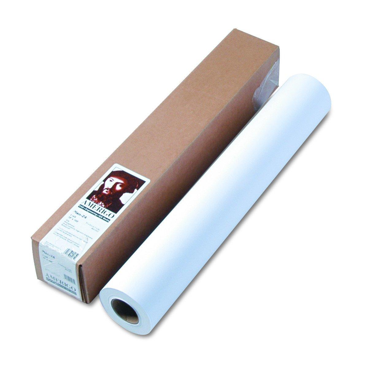 24in X 150ft A1d Special Inkjet Paper for Designjet Clr Plotters HEWLETT PACKARD 370727 Office Supplies