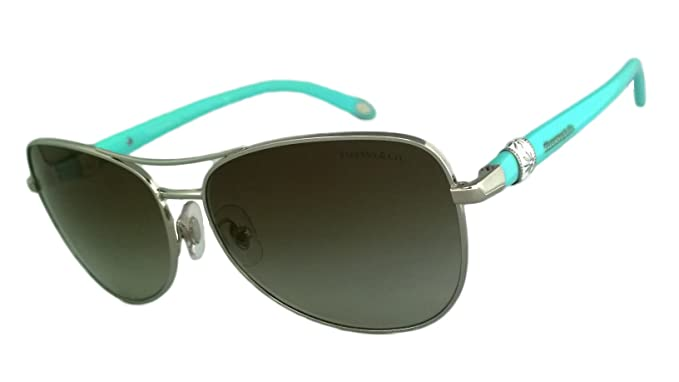 15098d9aa169 Tiffany   Co. Tf3036-b 100% Authentic Women s Sunglasses Silver 6071 ...