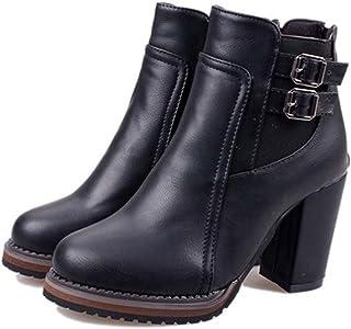Femmes Classique Chaussure À Chaussure À Chaîne Chaussette À Talon Chaussures À Chaussures Chelsea Boots Winter Boot