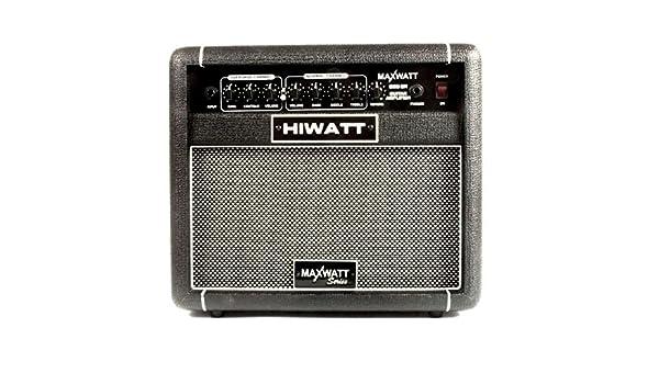 Hiwatt G20/8R amplificador combo para guitarra eléctrica con altavoz 8 20 W: Amazon.es: Instrumentos musicales