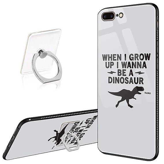 timeless design 4b201 4860e Amazon.com: iPhone 8 Plus Case, iPhone 7 Plus Cases When I Grow Up I ...