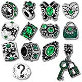 Best Beads For Charms - European Charm Bracelet Charms and Beads For Women Review