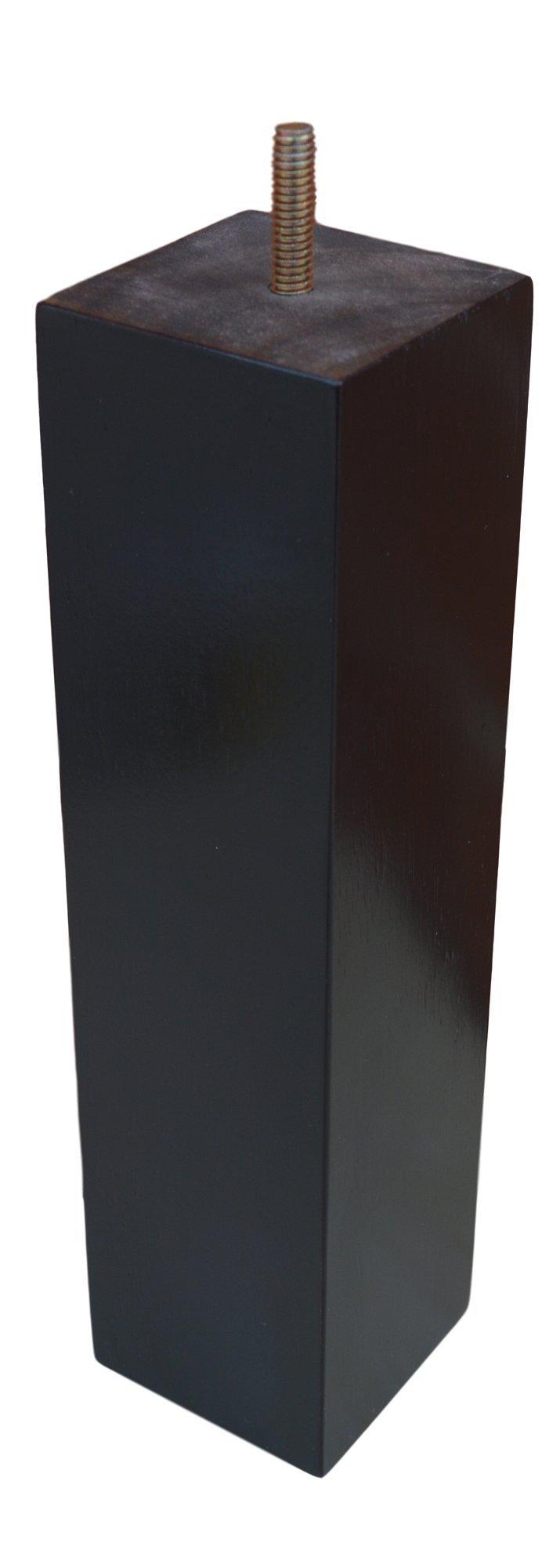 BingLTD 10'' Square Hardwood Sofa Legs - Set of 4 (ST2510-157)