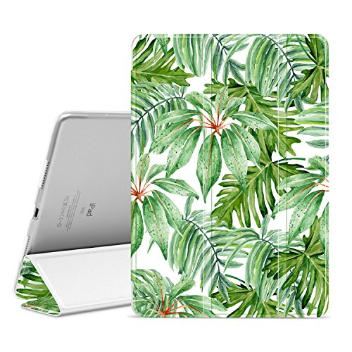 Ayotu Case for iPad Air 3 10.5 2019/iPad Pro 10.5 inch,Slim Stand Smart Cover with Auto Wake and Sleep Smart Protective Cover for iPad Air 10.5 2019/iPad Pro 10.5-inch 2017 - Pedestal Leaf