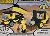 Best-Lock Construction Toys - Dump Truck and Lift Over 150 Pieces