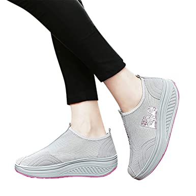 Boutique en ligne 8f023 08eb4 2019 Nuevo Moda Zapatillas Mujer, Zapato Deporte Con ...