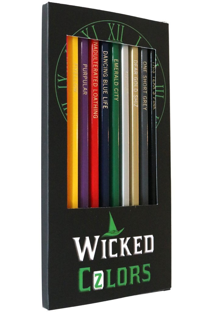 Wicked Colored Pencils - 12 Broadway Musical Parody Colors by Theatre Nerds