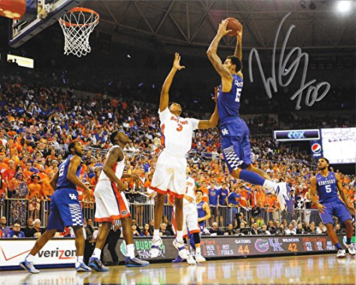 Willie Cauley-Stein Hand Signed 8x10 UK Kentucky Wildcats Photo w/ COA -