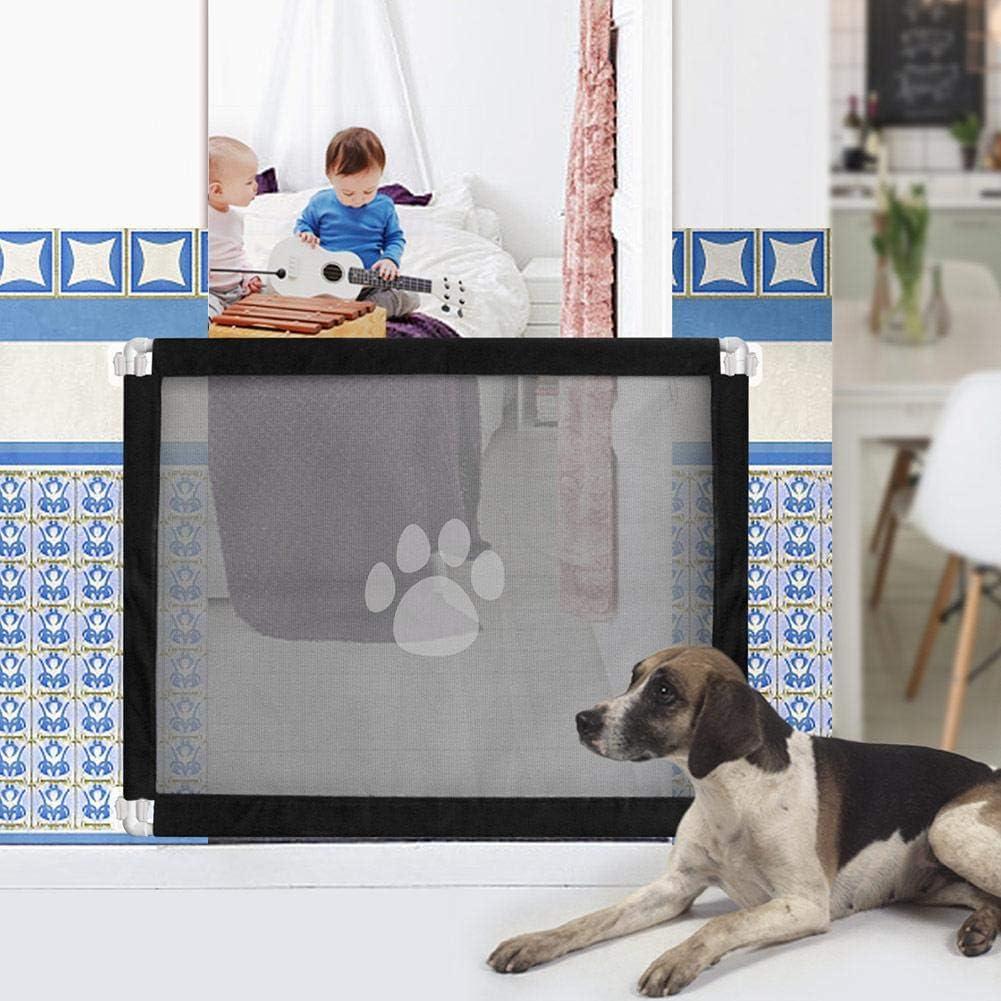 Hunde /& Katzen 180x72cm Hunde Treppenschutzgitter T/ürschutzgitter Abschlie/ßbar Hundeschutzgitter Faltbar Absperrgitter Treppenrollo T/ürschutzrollo f/ür Babys