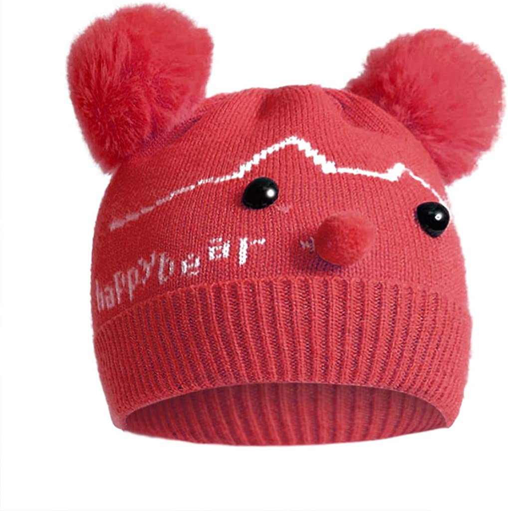0-6 Months Baby Hat Winter...