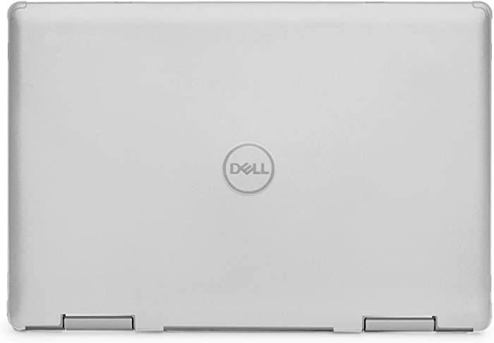 "mCover Hard Shell Case for 14"" Dell Inspiron 14 5481 2-in-1 Series Laptop Computers (NOT Compatible with Other Dell Inspiron Series) (Clear)"