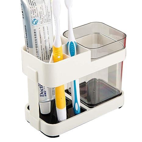 JYSPT - Cepillo de Dientes extraíble para Almacenamiento de Vasos de Dientes, Caja para baño