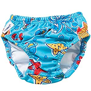 Finis Swim Octopus Diaper, Blue, X-Small
