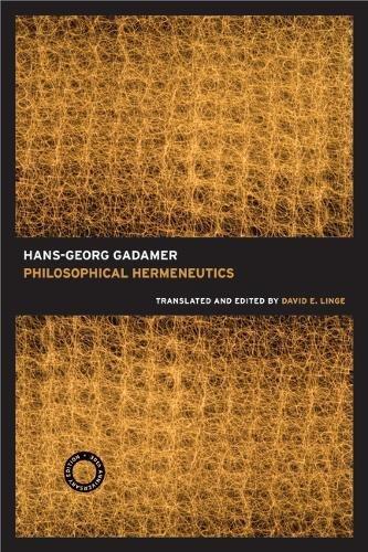 Philosophical Hermeneutics, 30th Anniversary Edition