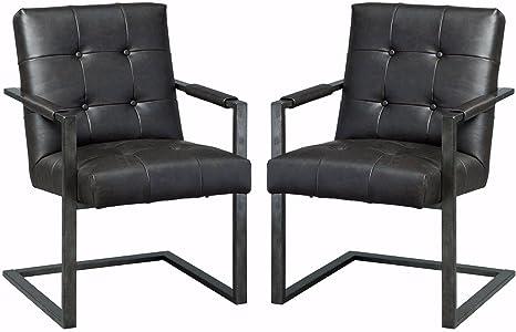 amazon com ashley furniture signature design starmore home office rh amazon com home office desk chair upholstered home office desk chair images
