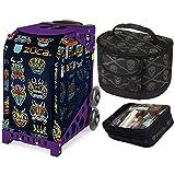 Zuca Sport Space Bugs Bag & Purple Frame, Gift Lunchbox + Pouch (Ltd. Ed.)