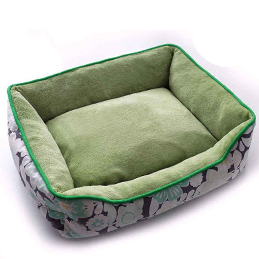 B Medium B Medium Four Seasons Universal Dog Bed, Washable Pet Supplies Small Cat House Super Soft Cotton Mats Small Medium and Large Dogs Sofa,B,M