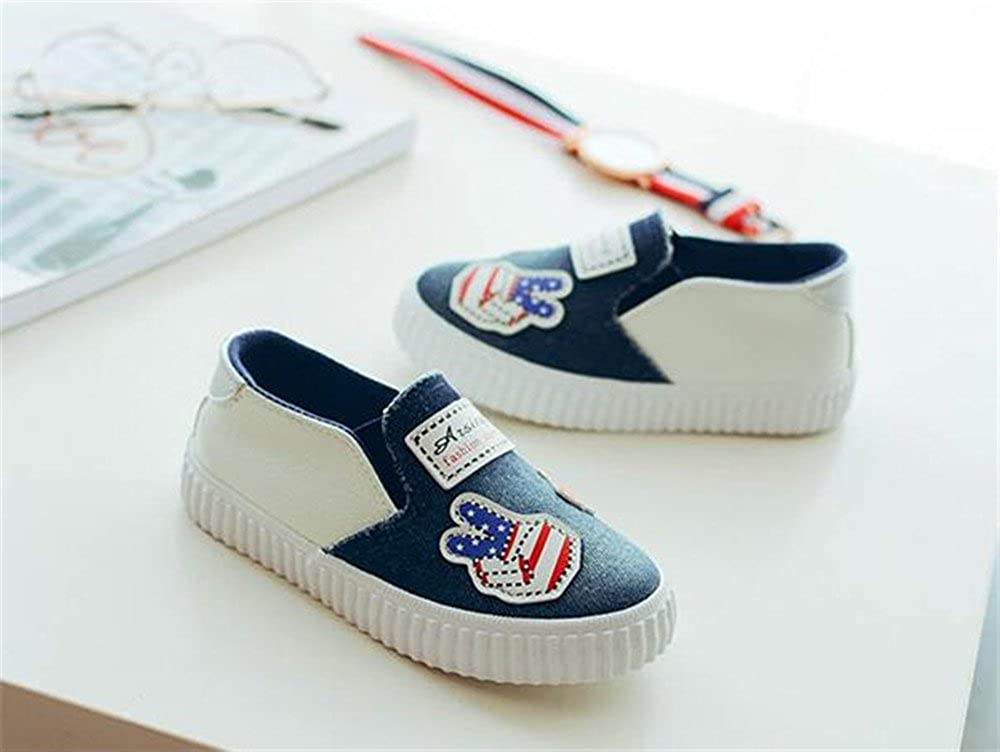 Toddler Canvas Sneaker Slip-On Casual Shoes Loafers