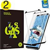 Screen Protector for Samsung Galaxy S9, Cavalrywolf [2 Pack] Premium 3D Full Coverage Tempered Glass [Scratch Terminator] [9H Hardness] [High Definition] Screen Protector for Samsung Galaxy S9