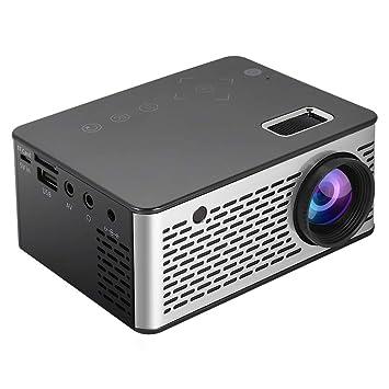 Tosuny Mini Proyector para Cine en Casa HD 1080P Entrada USB/TF/AV ...