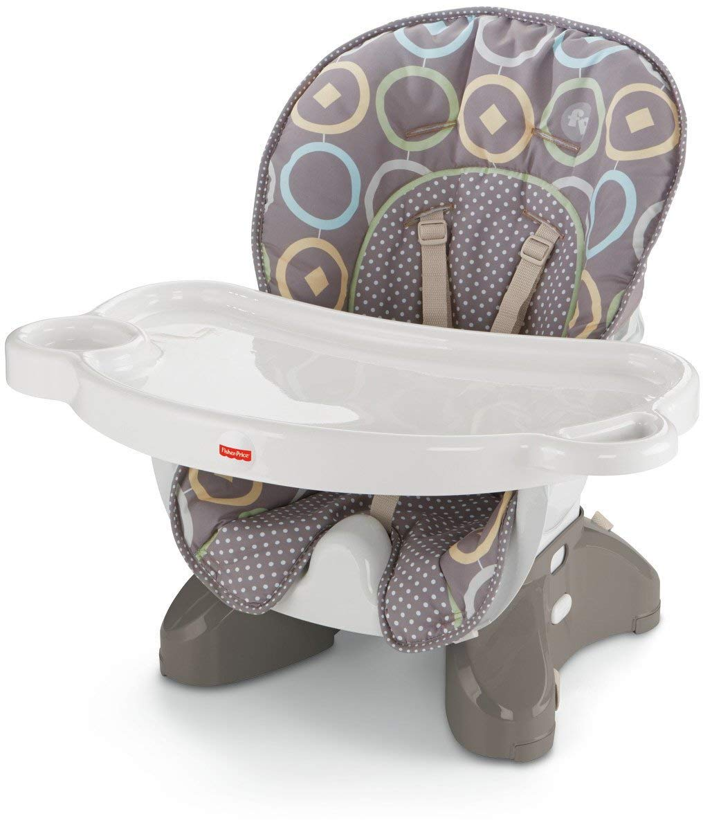 Fisher-Price SpaceSaver High Chair, Luminosity [Amazon Exclusive] by Fisher-Price