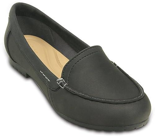 crocs - Mocasines de Sintético para Mujer Negro Negro 37 EU: Amazon.es: Zapatos y complementos