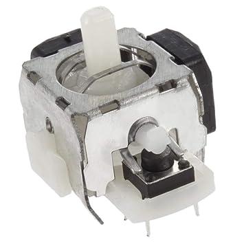 El más nuevo 25 * 20 * 20mm 8 Puntos de soldadura Analógico Negro/Blanco Interruptor de Reemplazo para Xbox 360 Controlador Envío Gratis/Gota: Amazon.es: ...