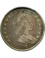 1807 P Bust Half Dollars Draped Bust Half Dollar VF20 PCGS\CAC