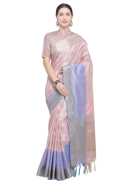 2915e6c0454316 VARKALA SILK SAREES Women s Kanjiwaram Banarasi Katan Silk Saree  (D59A255