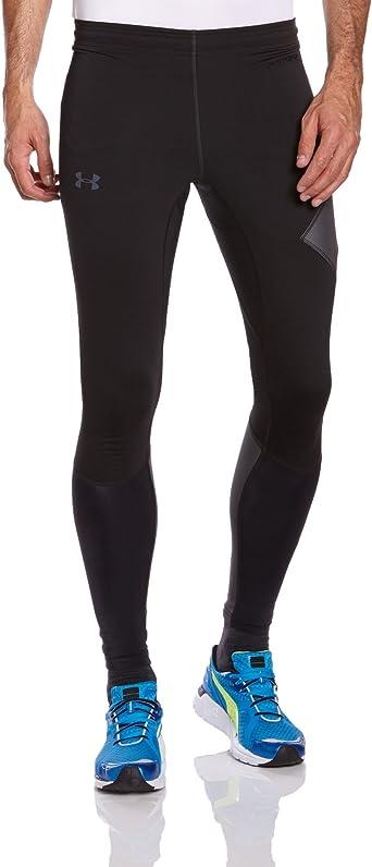 Inscribirse Confiar Decir  Amazon.com : Under Armour Stealth Storm Running Tights - Small - Grey :  Athletic Leggings : Clothing