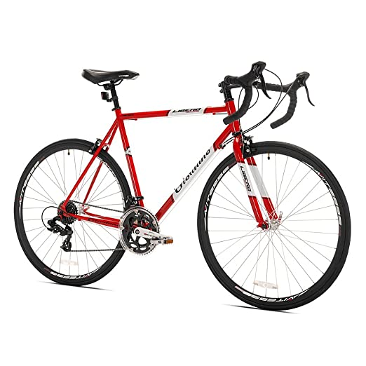 Buy the Giordano Libero Acciao road bike on amazon