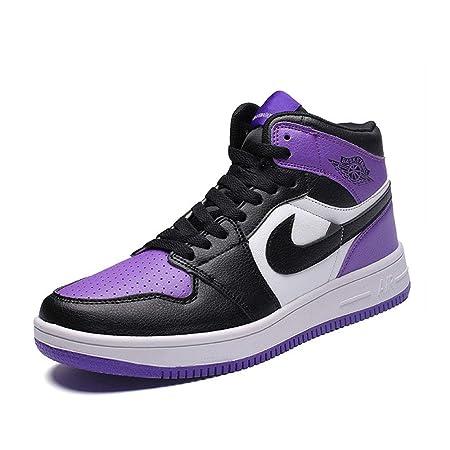 YSZDM Zapatos de Baloncesto, Zapatillas de Hombre Resistente ...