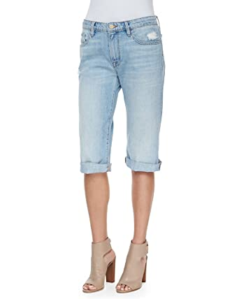 5cd84222cb Frame Denim Women's Le Vintage Bermuda Denim Shorts, Parkside (Blue), 28 at  Amazon Women's Clothing store: