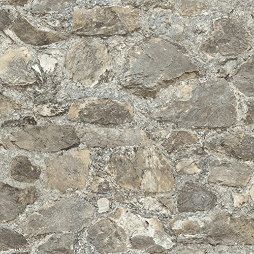 roommates rmk9096wp weathered stone peel and stick wallpaper dcor