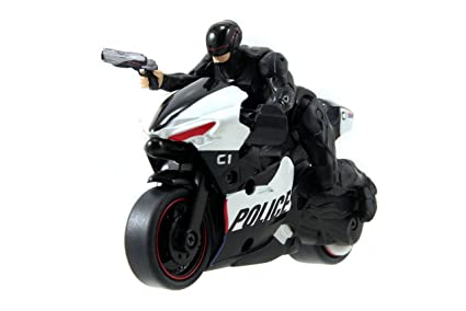 Amazon Com Jada Toys Robocop Pull Back Police Motocycle With