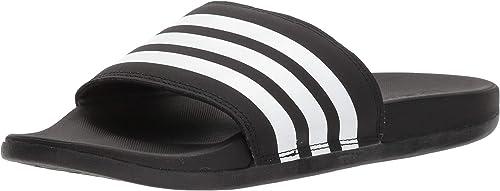 adidas Damen Adilette Cf+ Mono W Sandalen zum Reinschlüpfen, SignalkoralleCollegiate BurgundyFTWR Weiß