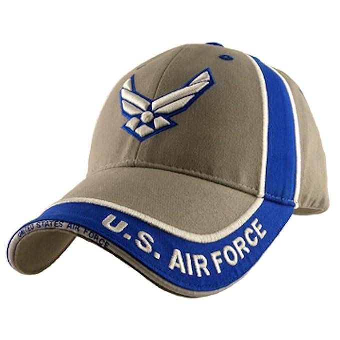 aa973f5cc US Air Force Hap Arnold Logo Baseball Cap, Gray